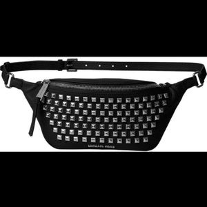 Michael Kors belt bag studded